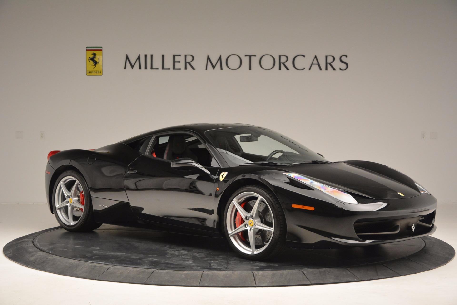 Used 2013 Ferrari 458 Italia  For Sale In Westport, CT 889_p10