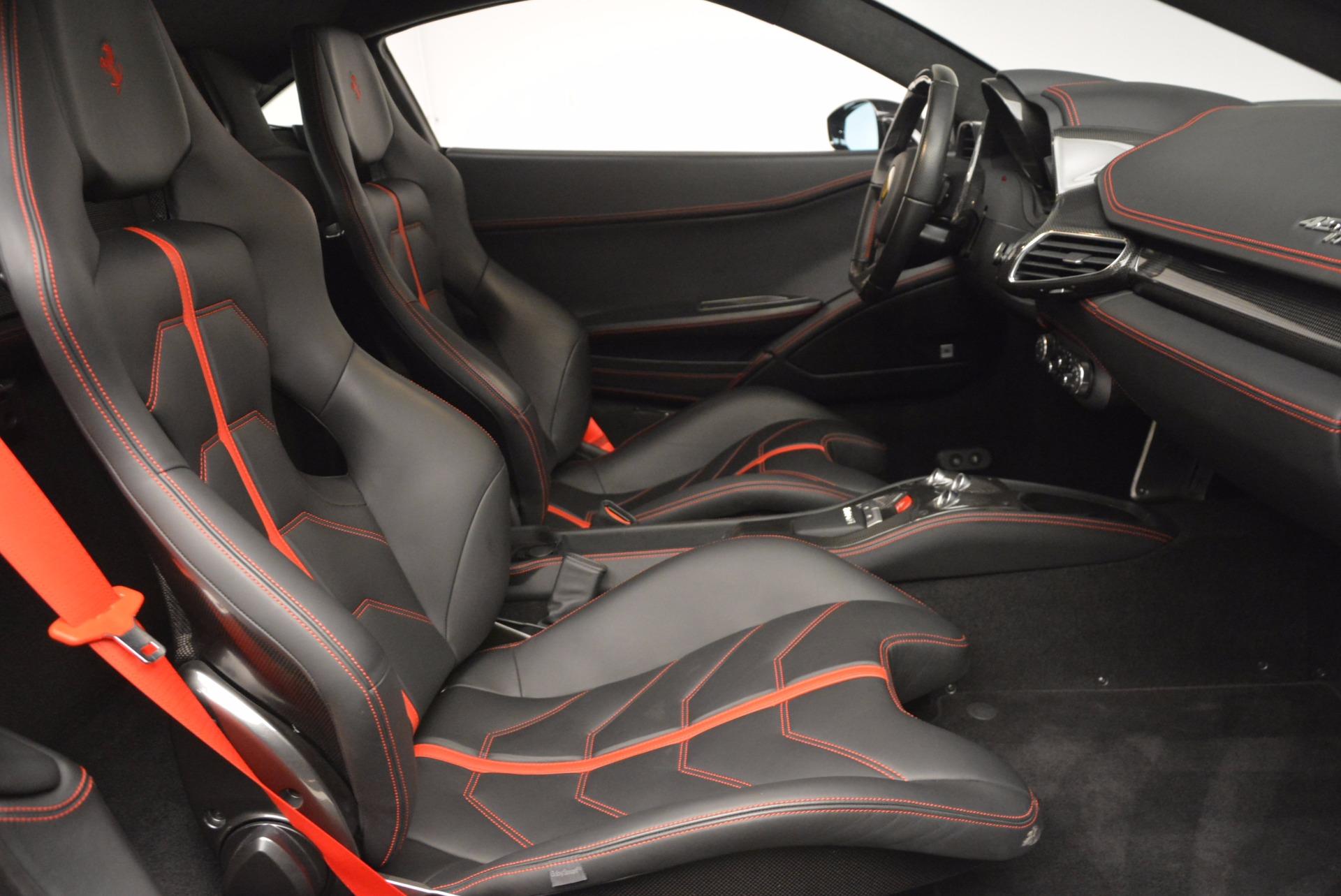 Used 2013 Ferrari 458 Italia  For Sale In Westport, CT 889_p18
