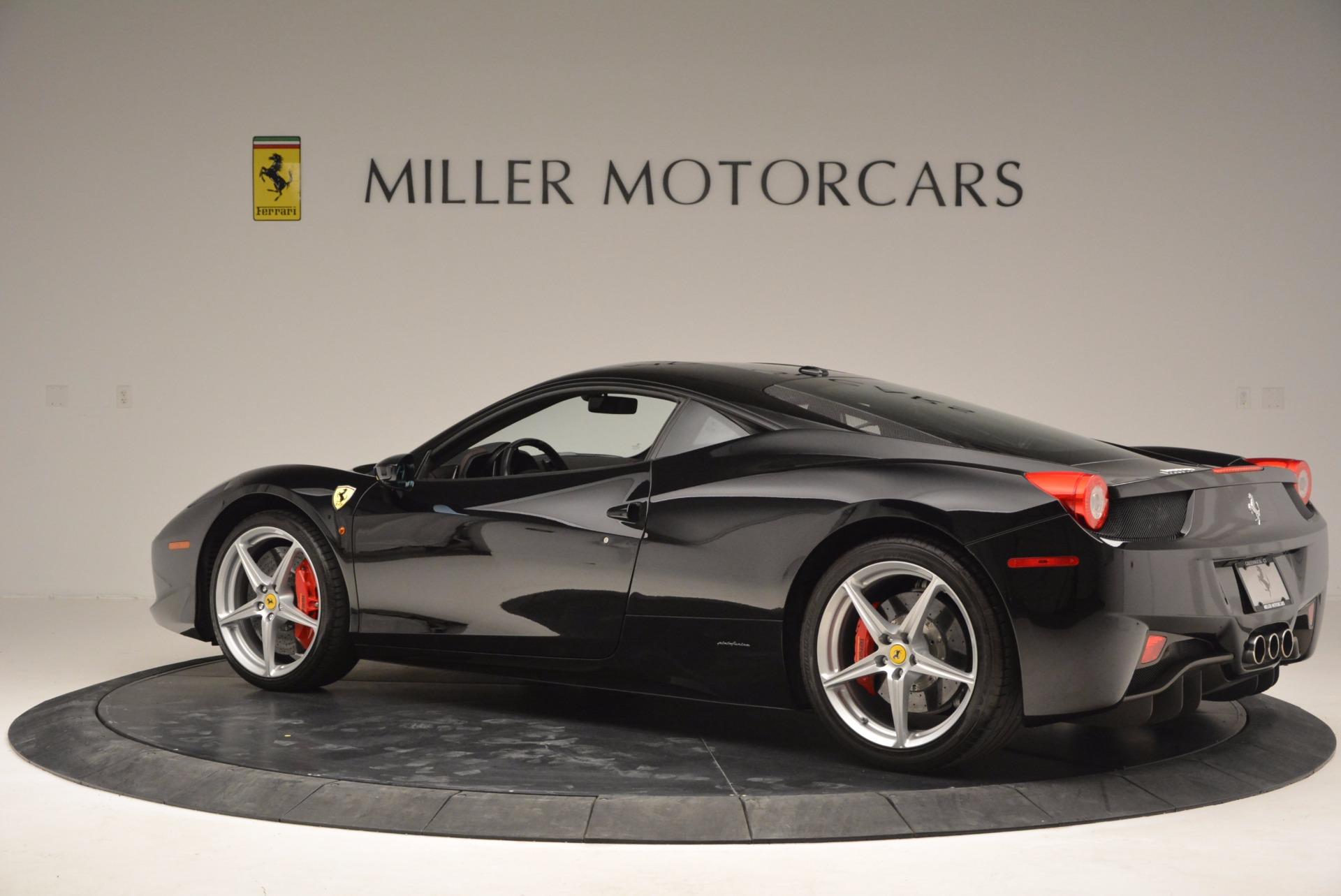 Used 2013 Ferrari 458 Italia  For Sale In Westport, CT 889_p4
