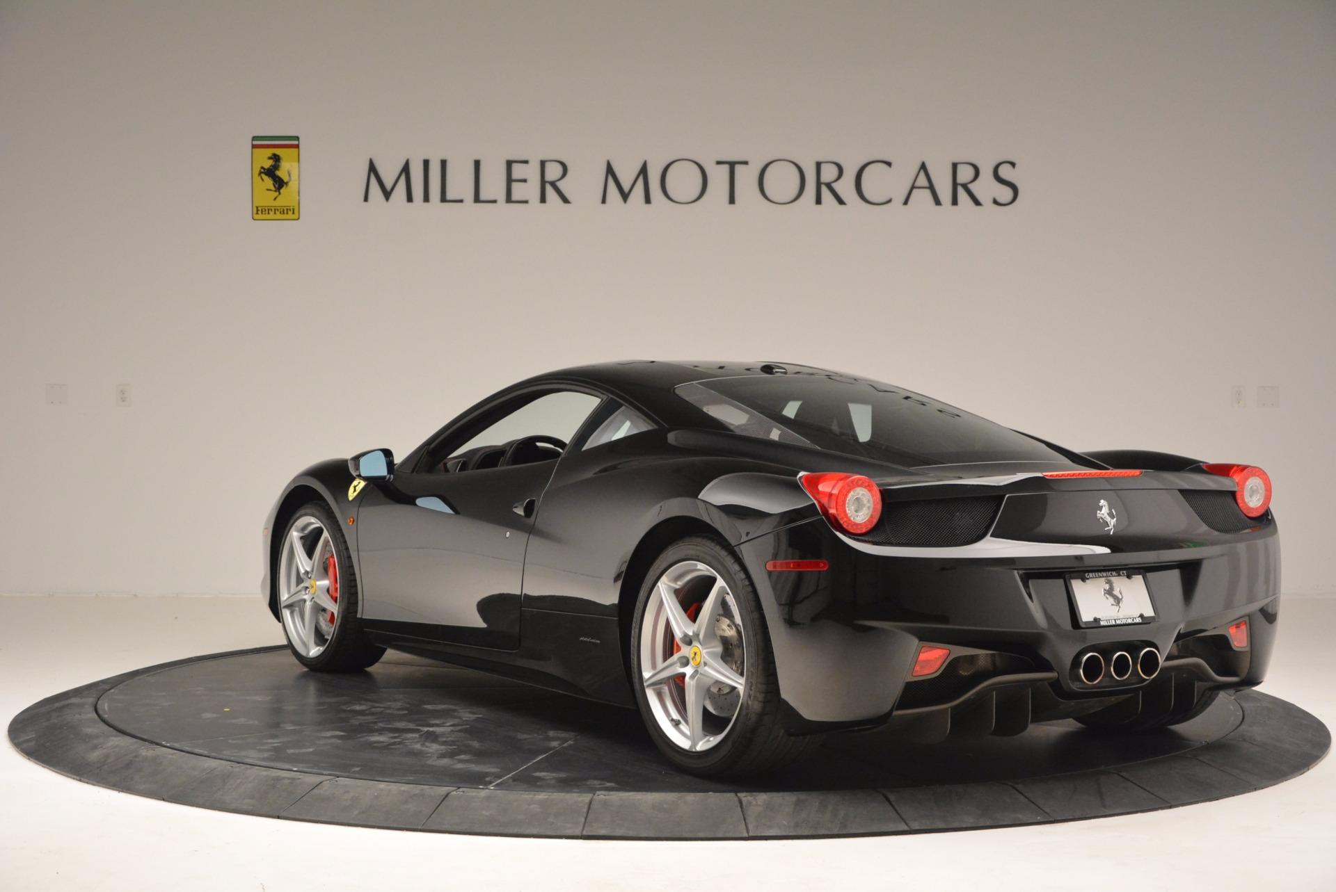 Used 2013 Ferrari 458 Italia  For Sale In Westport, CT 889_p5