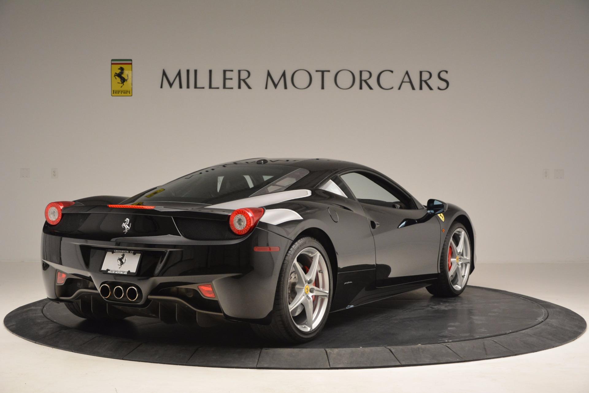 Used 2013 Ferrari 458 Italia  For Sale In Westport, CT 889_p7