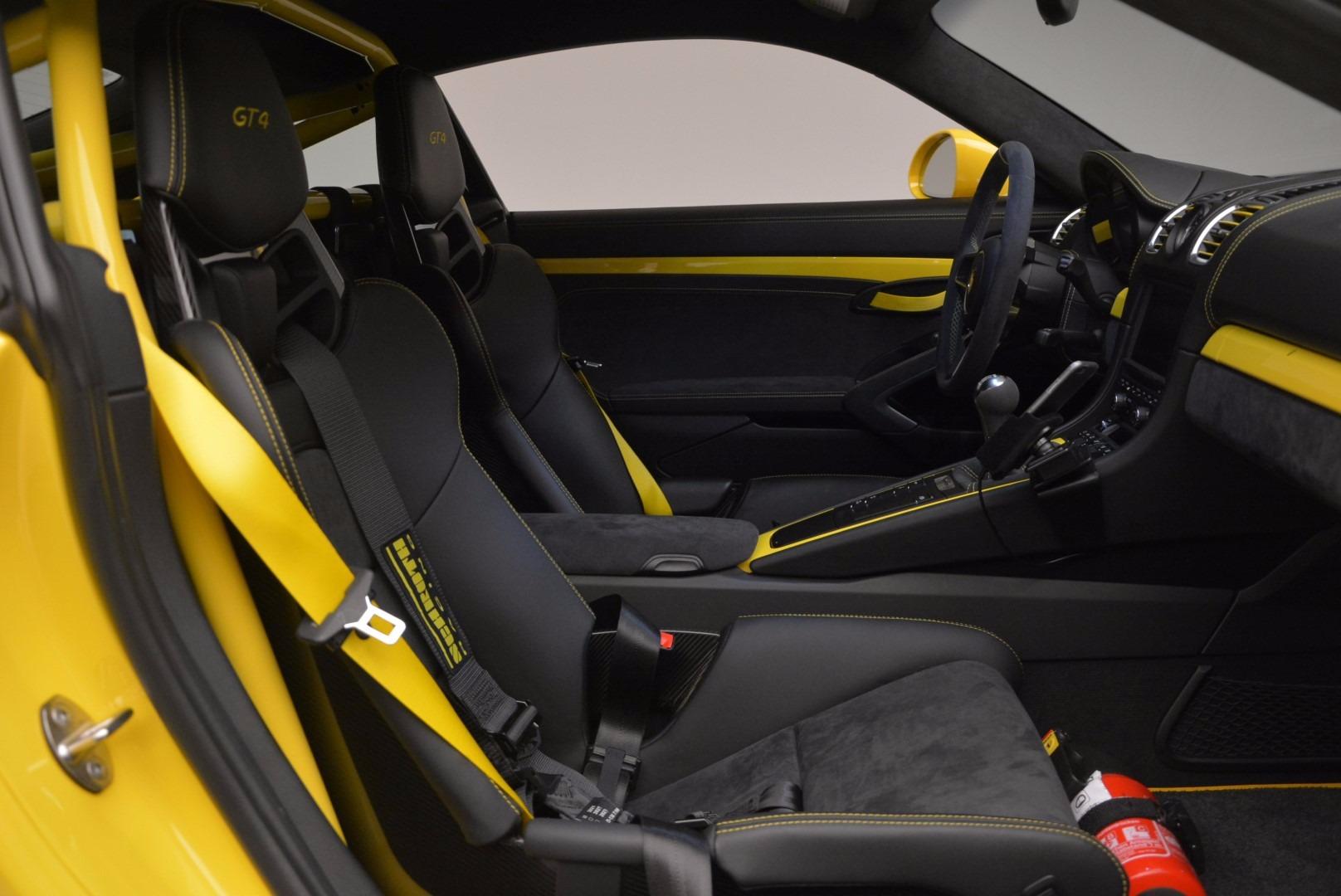 Used 2016 Porsche Cayman GT4 For Sale In Westport, CT 897_p17