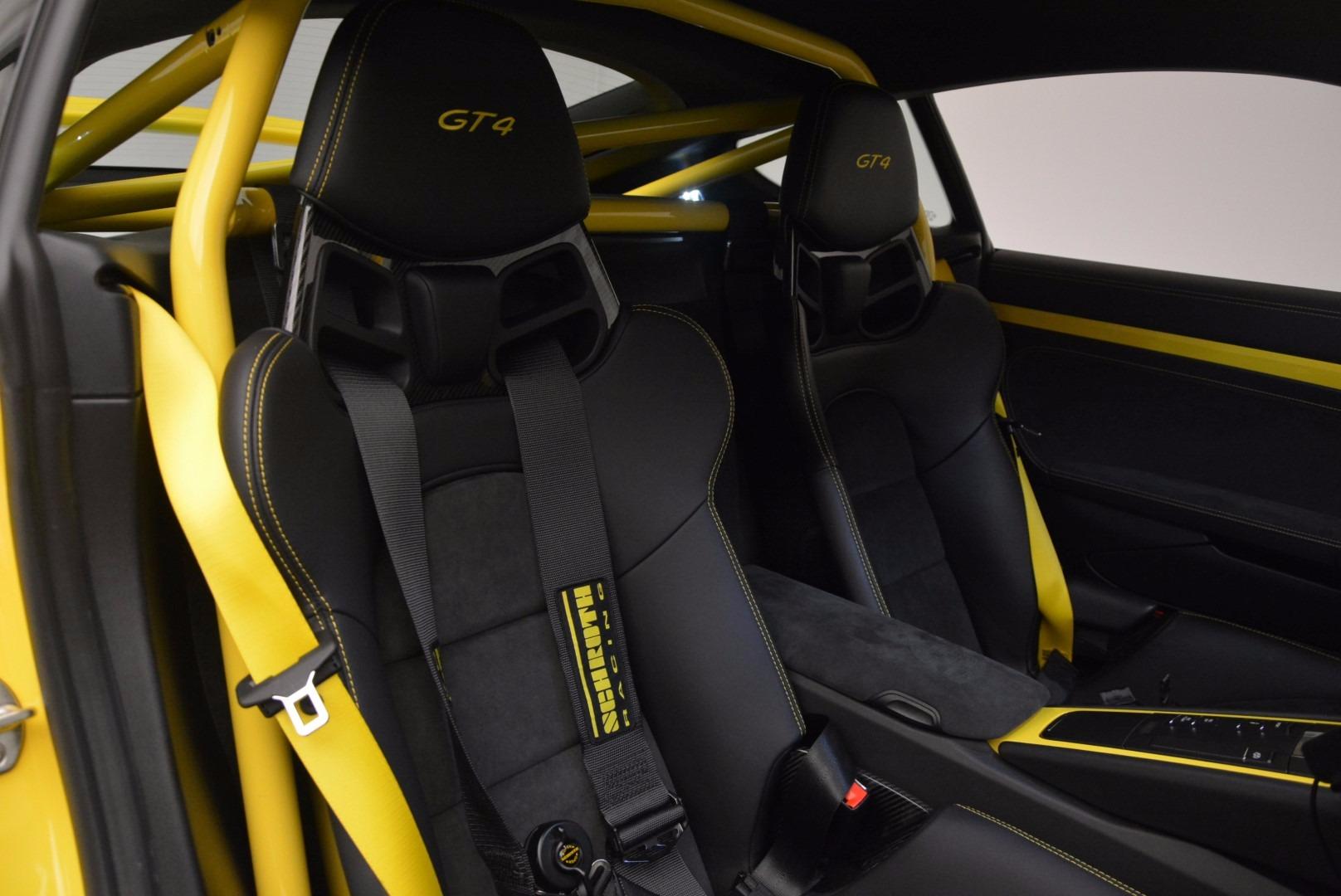 Used 2016 Porsche Cayman GT4 For Sale In Westport, CT 897_p18