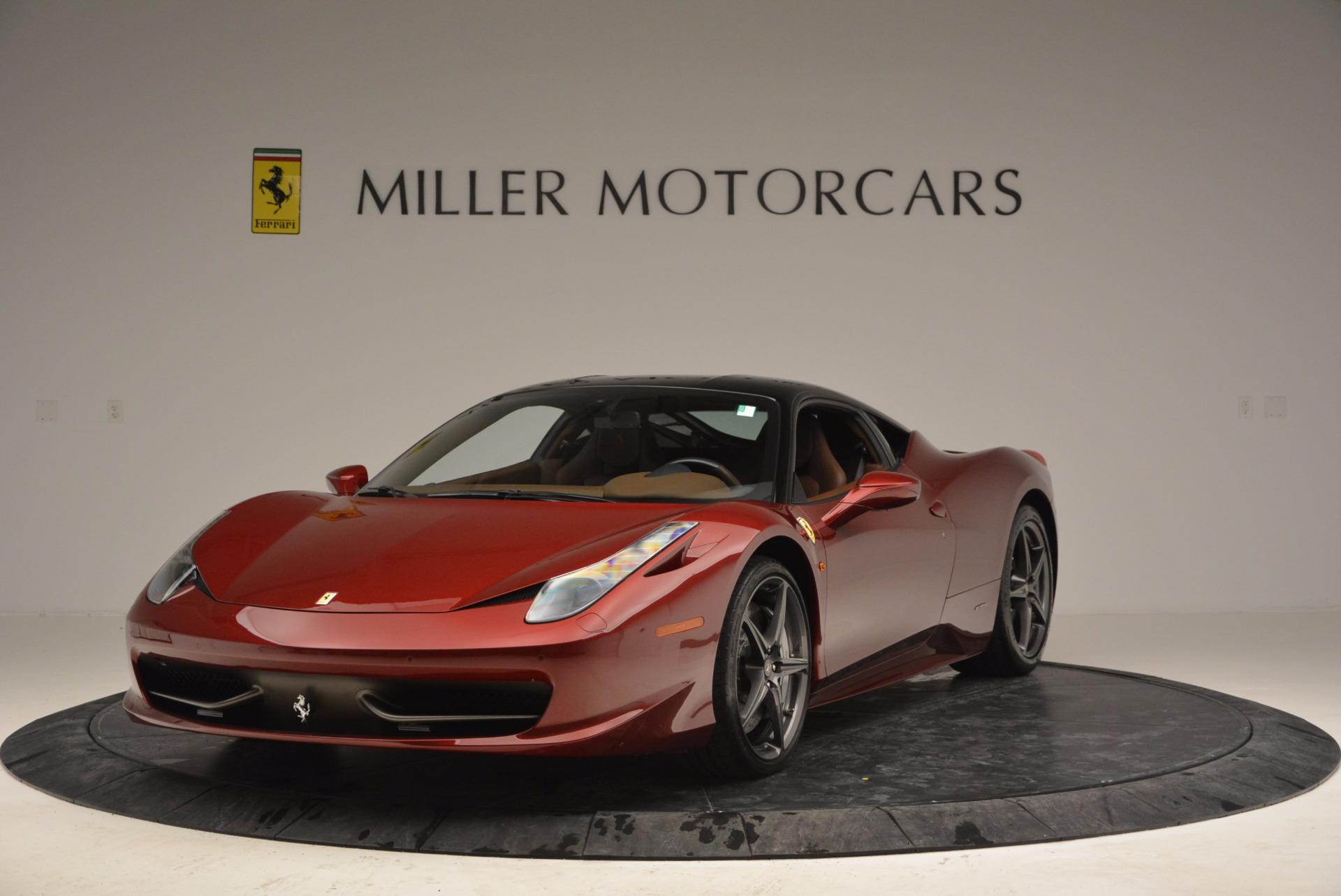Used 2011 Ferrari 458 Italia  For Sale In Westport, CT 899_main