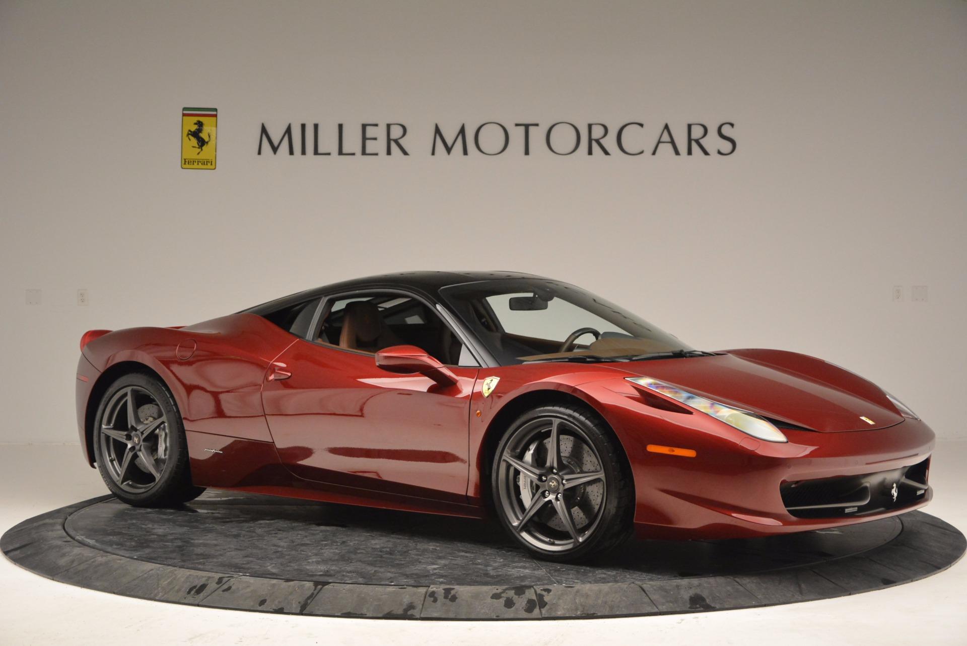 Used 2011 Ferrari 458 Italia  For Sale In Westport, CT 899_p10