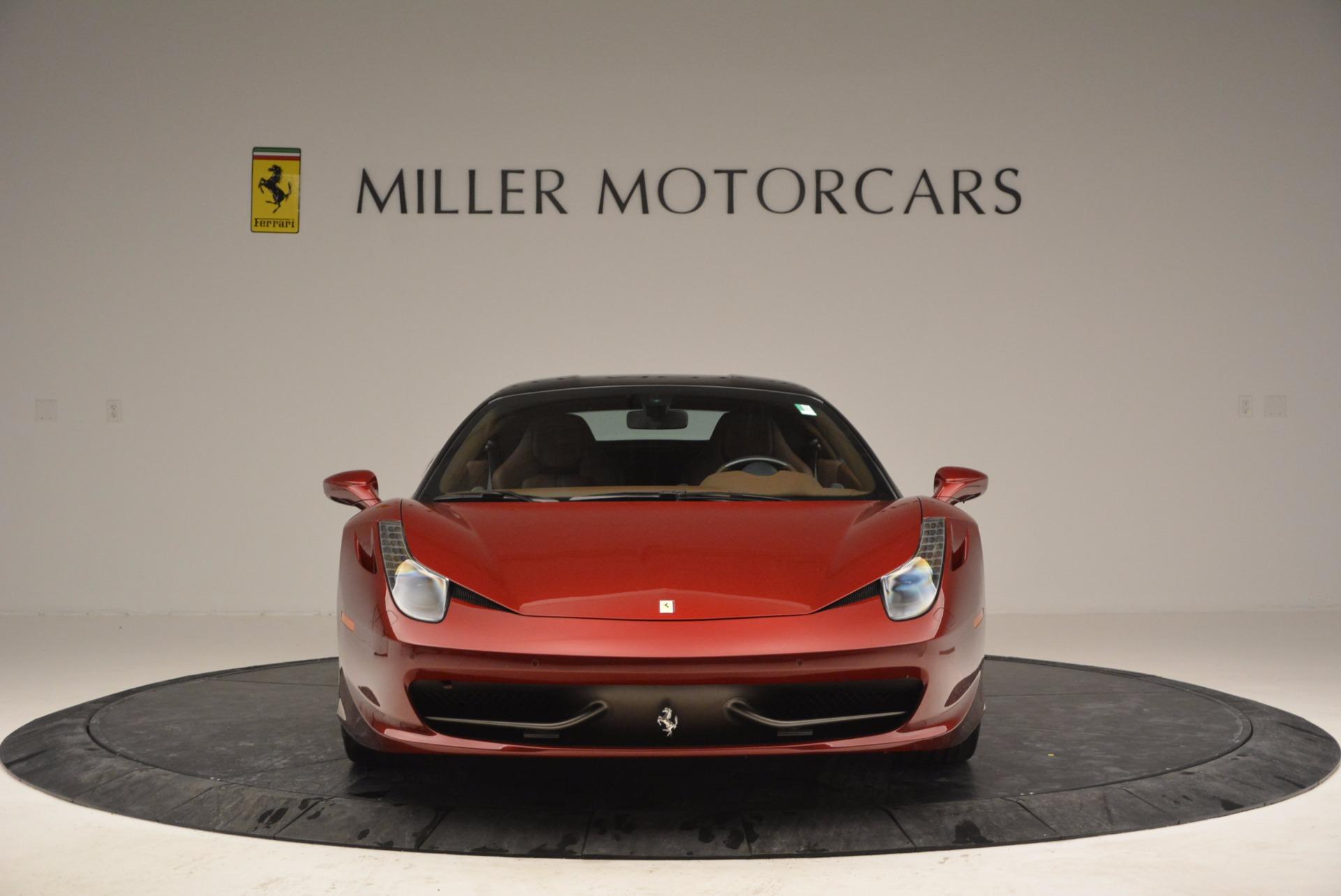 Used 2011 Ferrari 458 Italia  For Sale In Westport, CT 899_p12