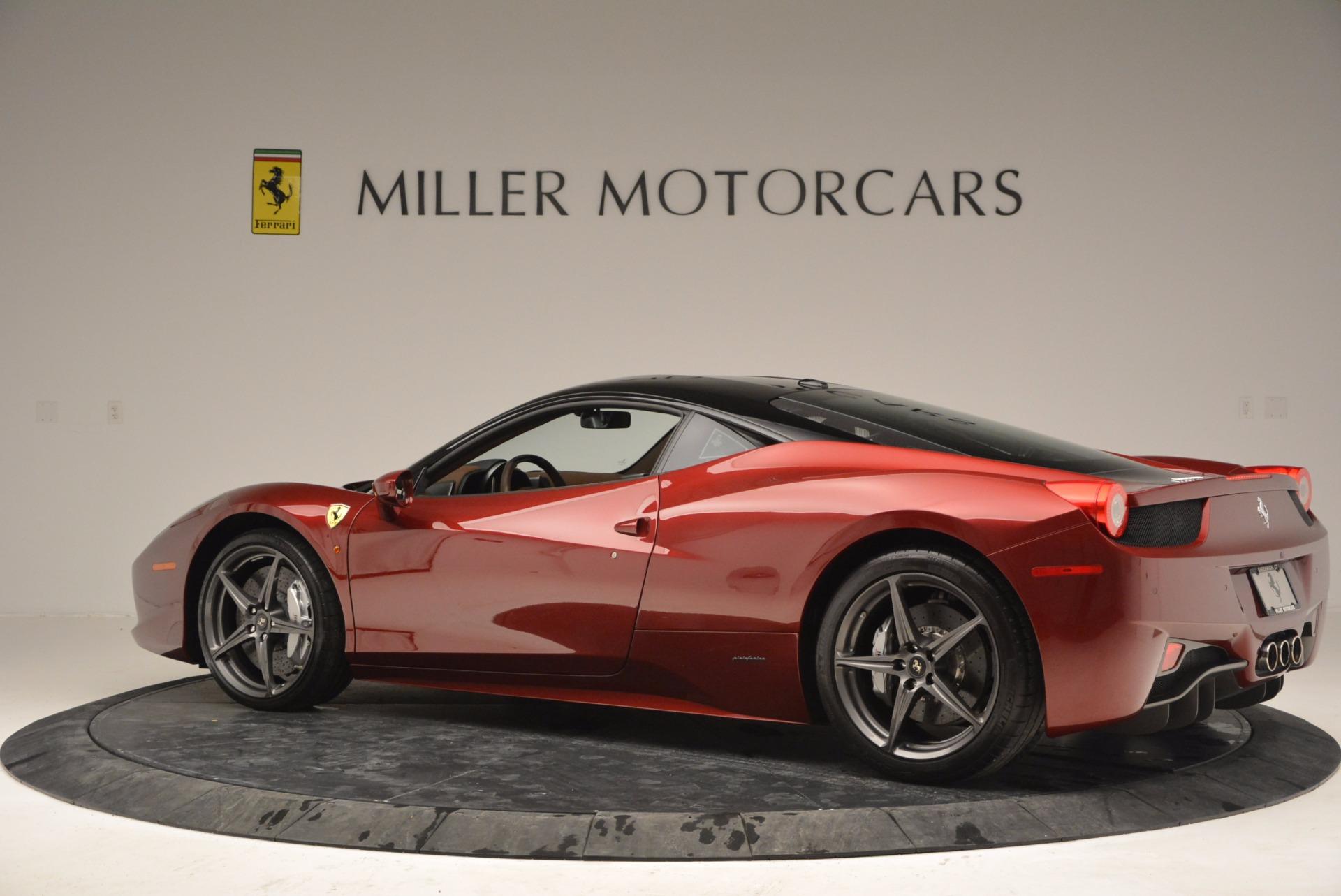 Used 2011 Ferrari 458 Italia  For Sale In Westport, CT 899_p4