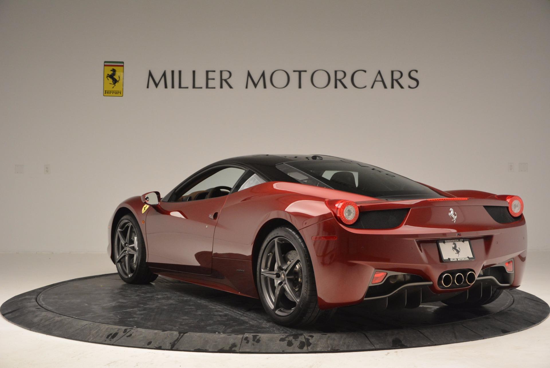 Used 2011 Ferrari 458 Italia  For Sale In Westport, CT 899_p5