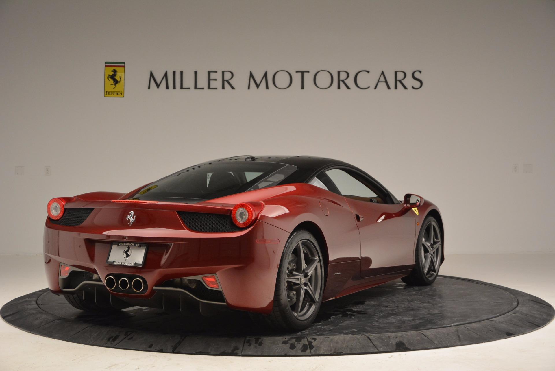 Used 2011 Ferrari 458 Italia  For Sale In Westport, CT 899_p7