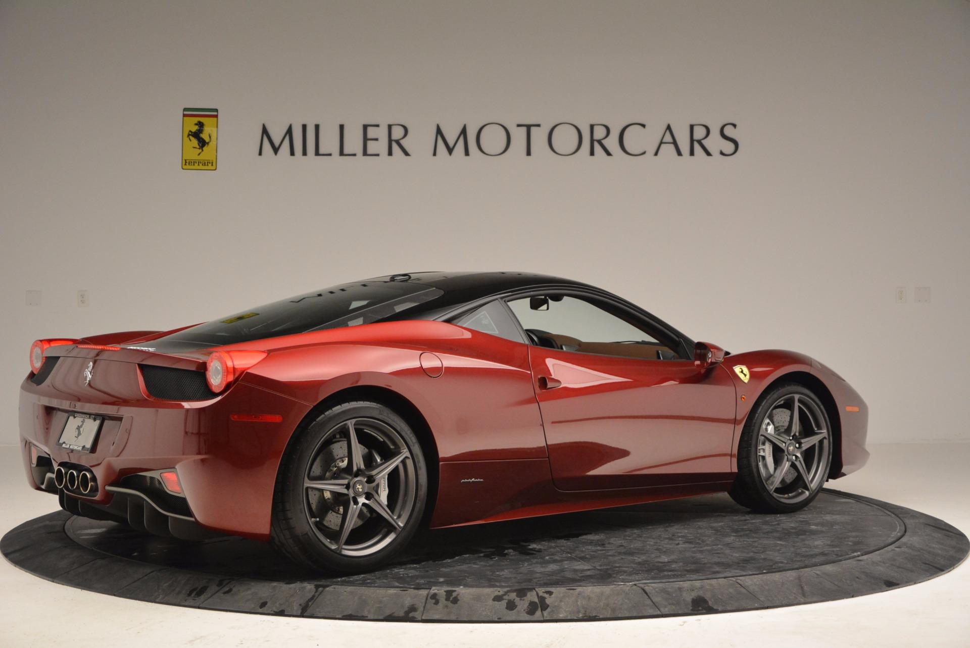 Used 2011 Ferrari 458 Italia  For Sale In Westport, CT 899_p8