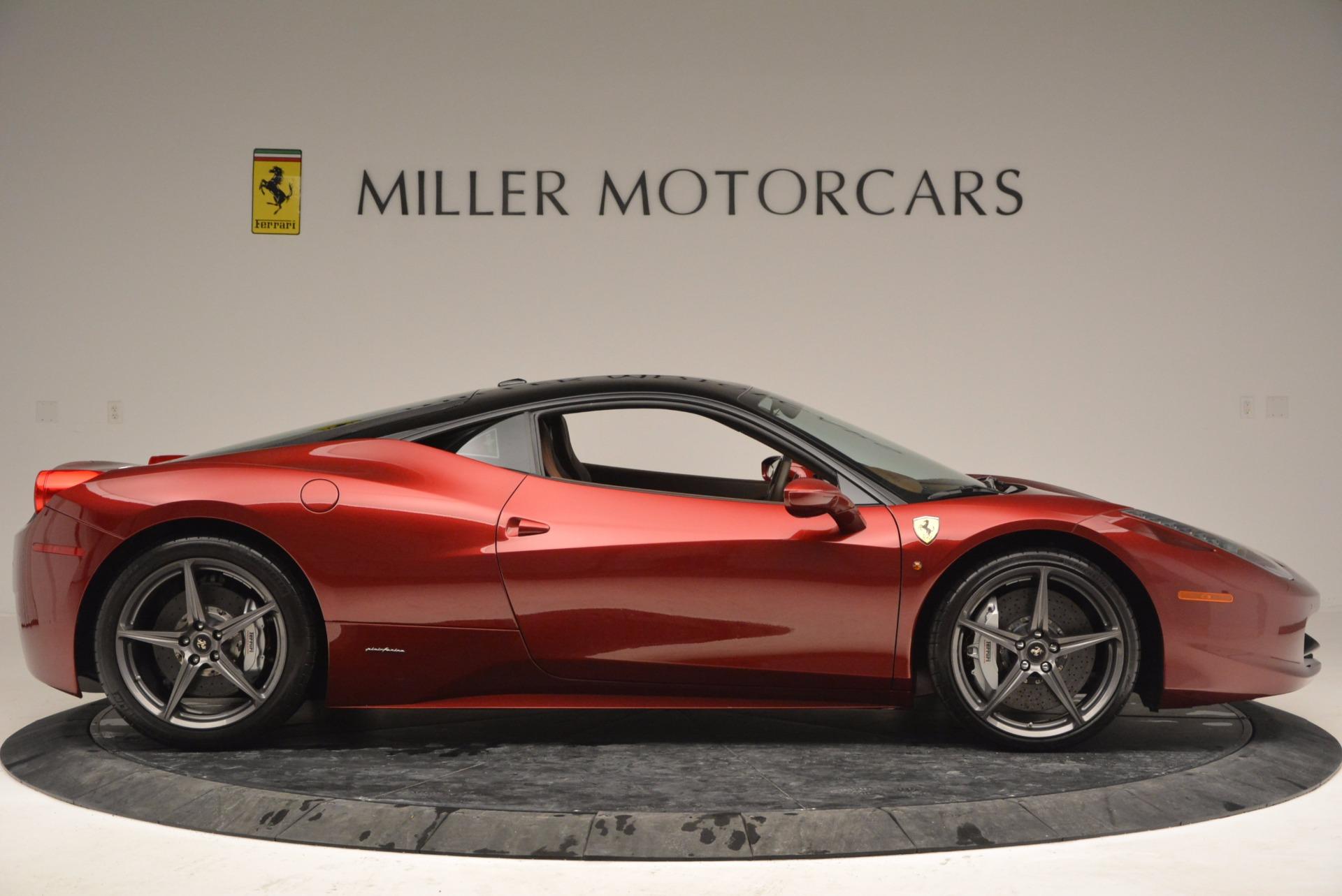 Used 2011 Ferrari 458 Italia  For Sale In Westport, CT 899_p9