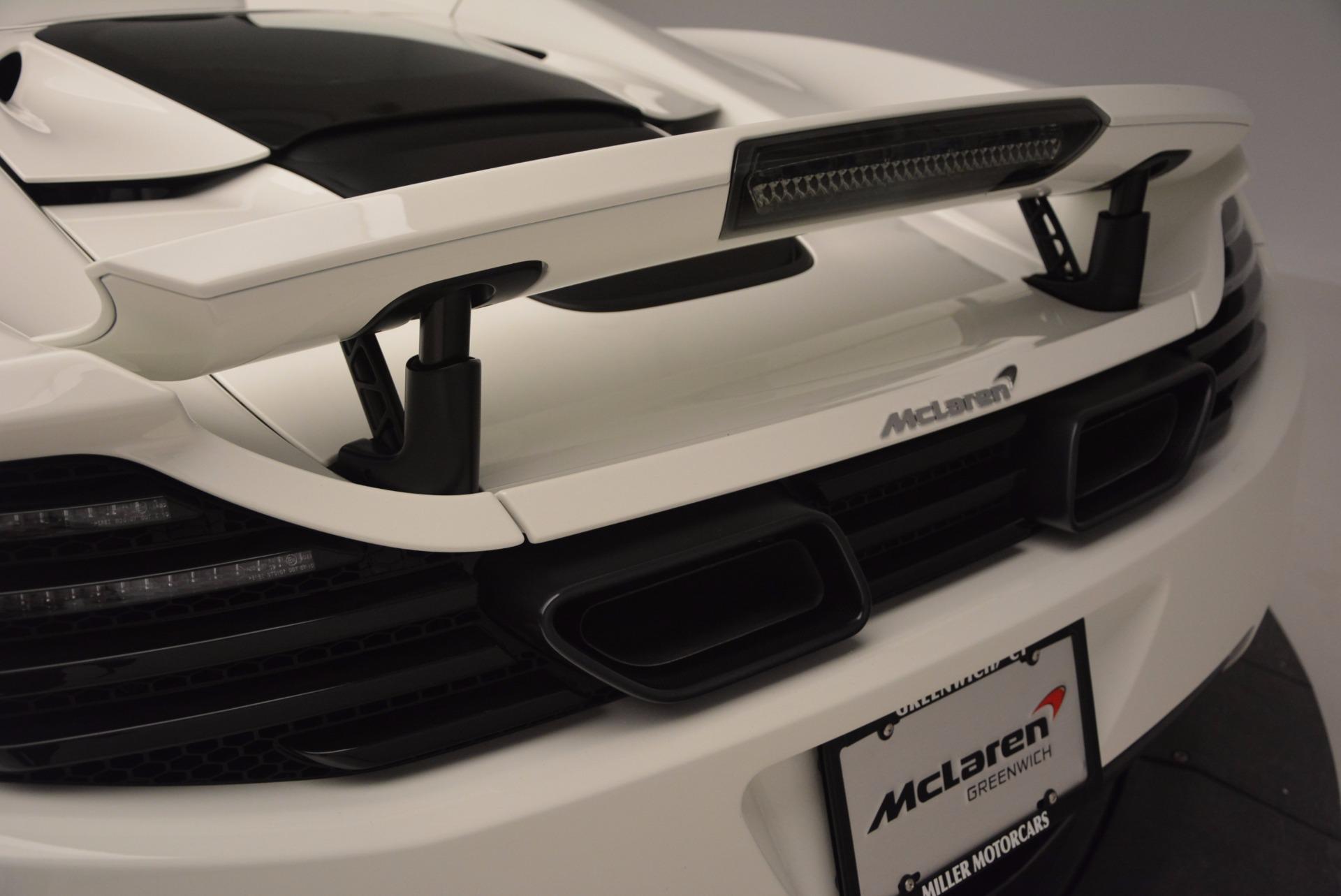 Used 2014 McLaren MP4-12C Spider For Sale In Westport, CT 908_p22
