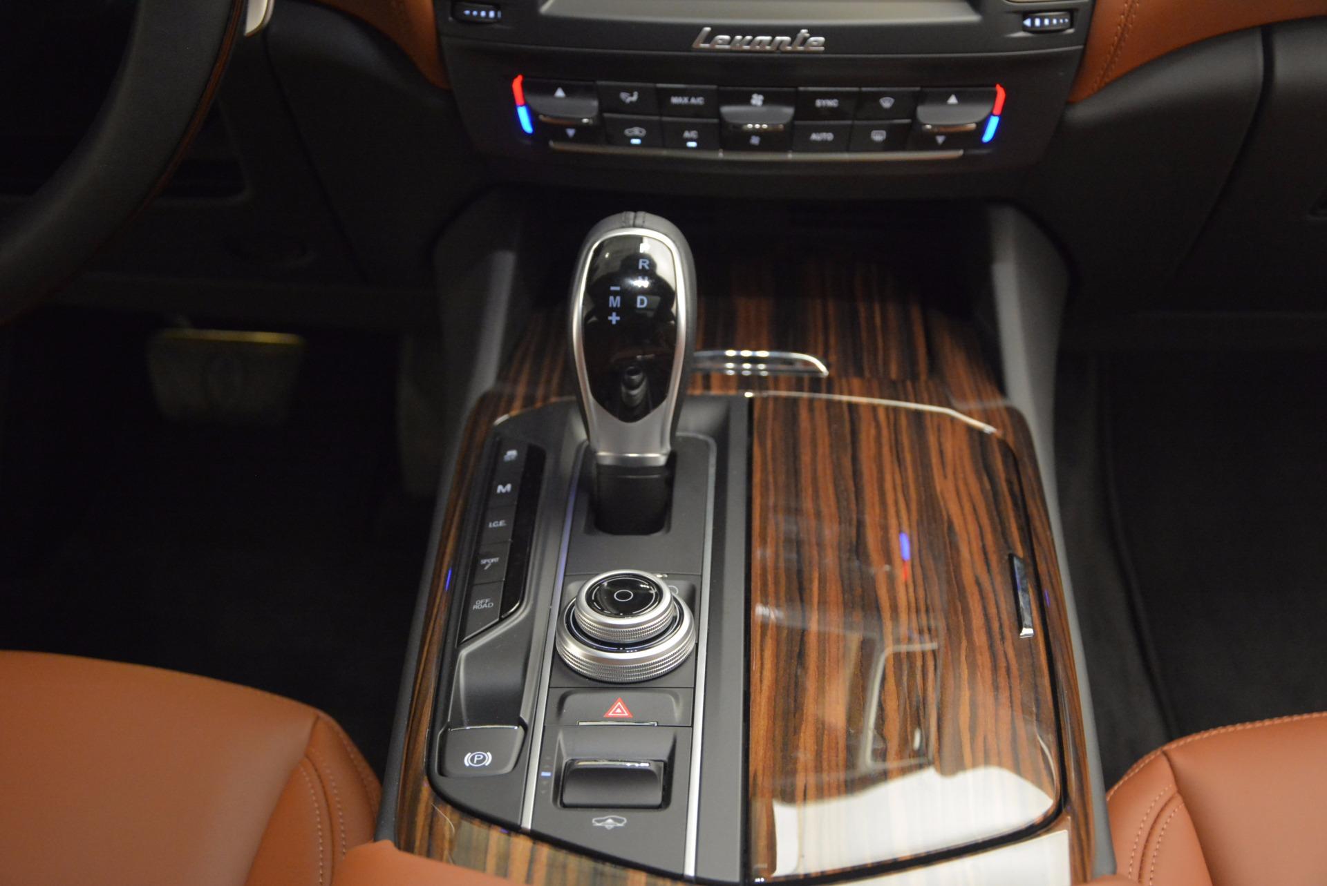 New 2017 Maserati Levante  For Sale In Westport, CT 915_p27