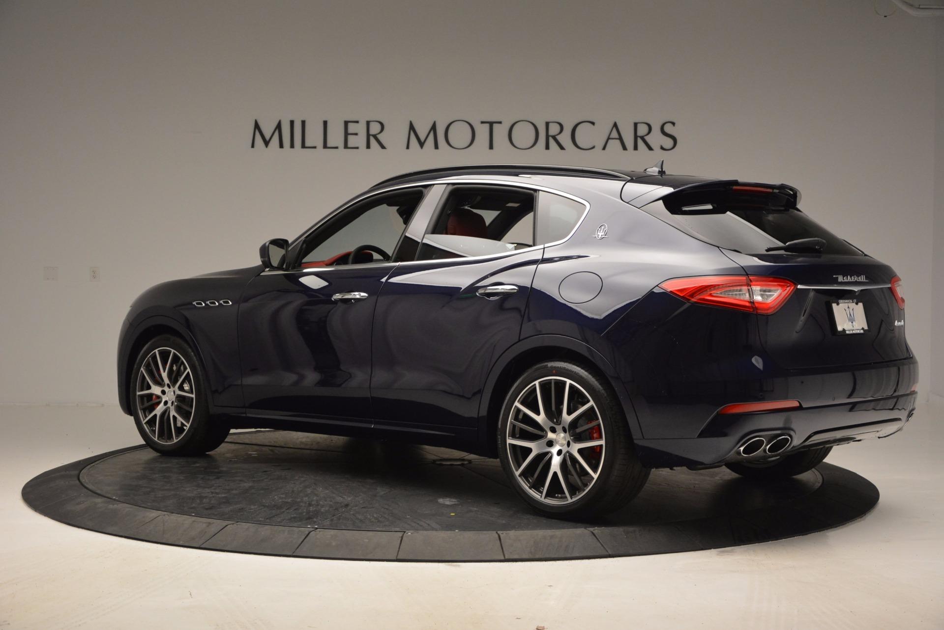 New 2017 Maserati Levante S For Sale In Westport, CT 918_p4