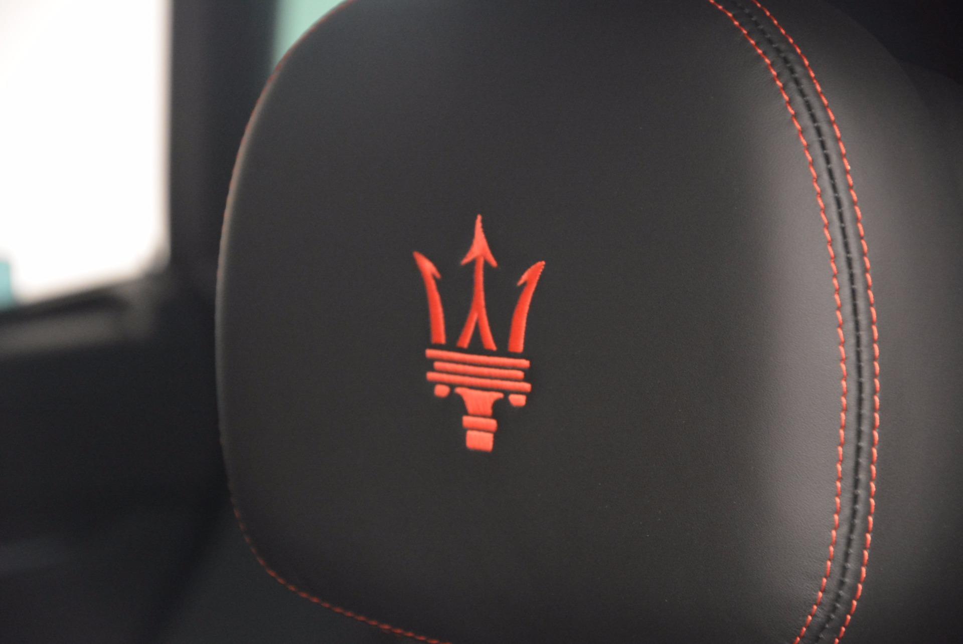 New 2017 Maserati Levante S For Sale In Westport, CT 919_p20