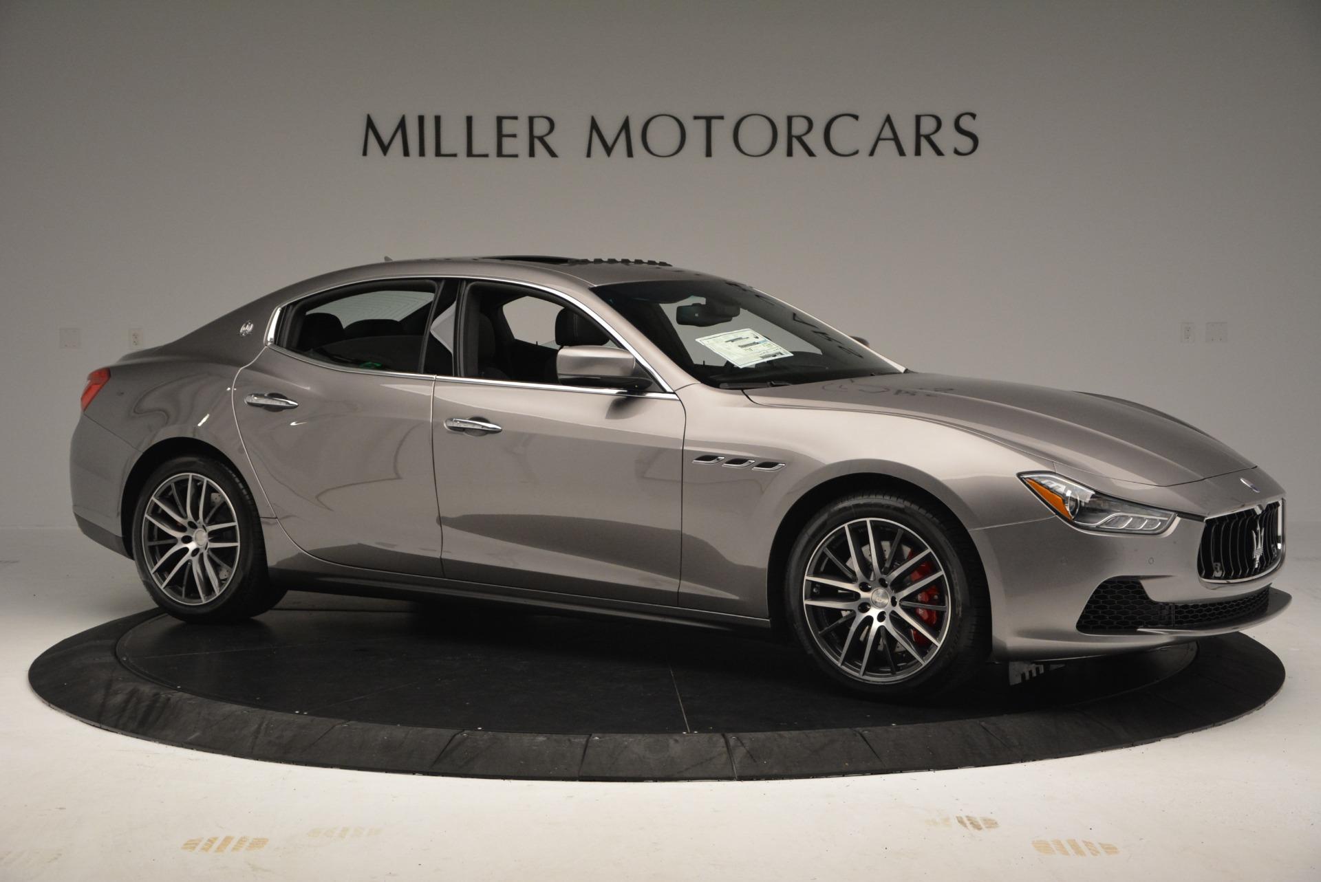 New 2017 Maserati Ghibli S Q4 For Sale In Westport, CT 920_p10