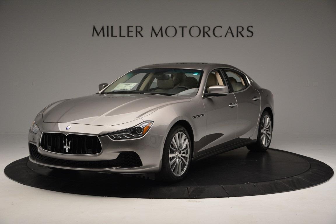 New 2017 Maserati Ghibli S Q4 For Sale In Westport, CT 933_main