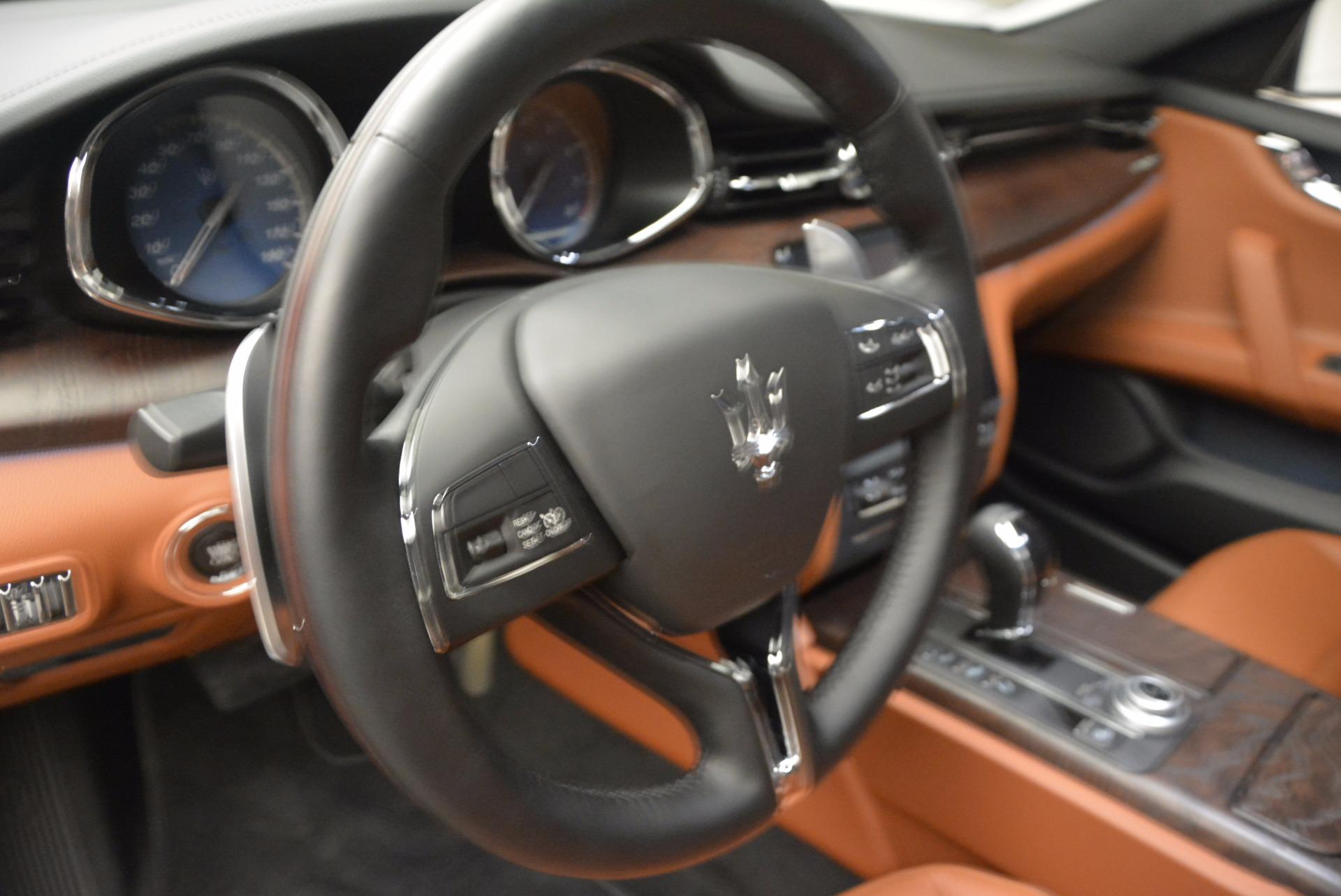 New 2017 Maserati Quattroporte SQ4 For Sale In Westport, CT 947_p16