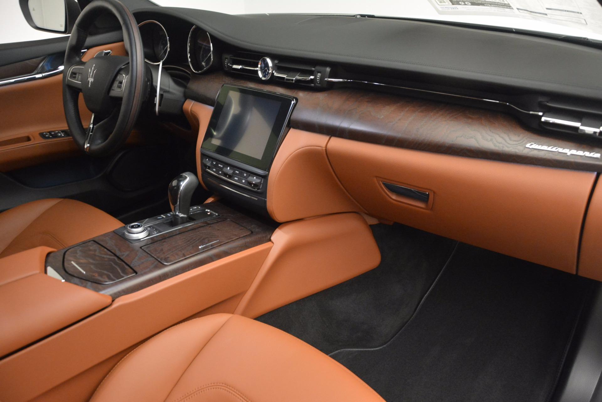 New 2017 Maserati Quattroporte SQ4 For Sale In Westport, CT 947_p22