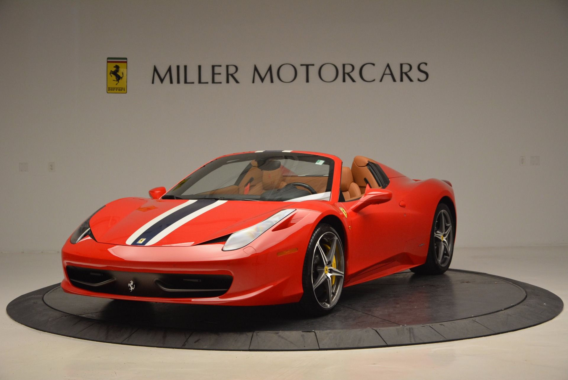 Used 2014 Ferrari 458 Spider  For Sale In Westport, CT 952_main