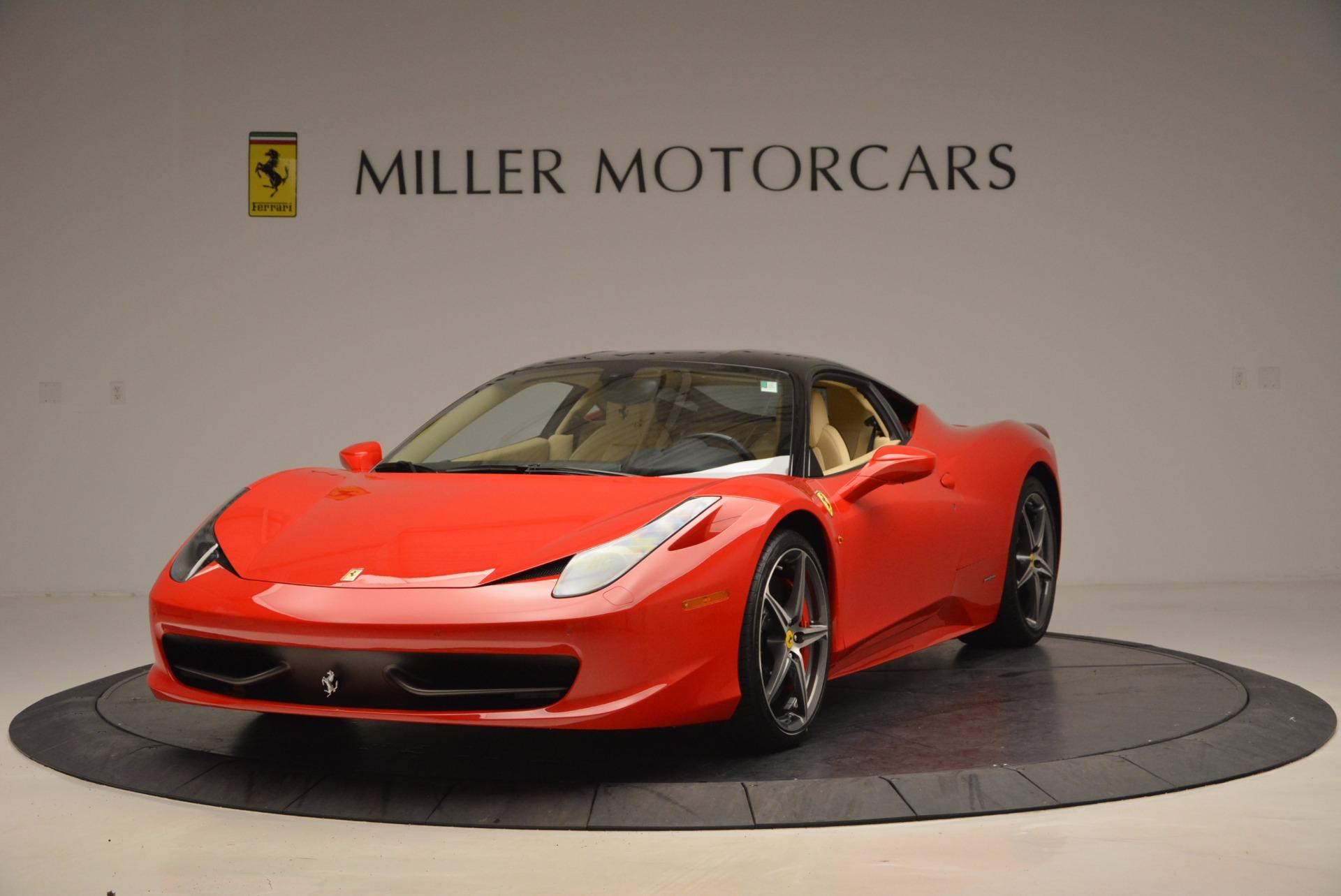 Used 2011 Ferrari 458 Italia  For Sale In Westport, CT 953_main