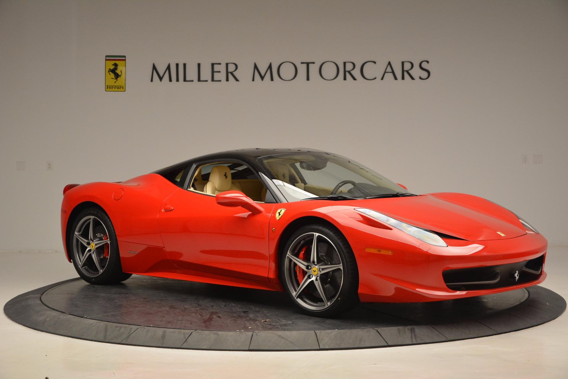 Used 2011 Ferrari 458 Italia  For Sale In Westport, CT 953_p10