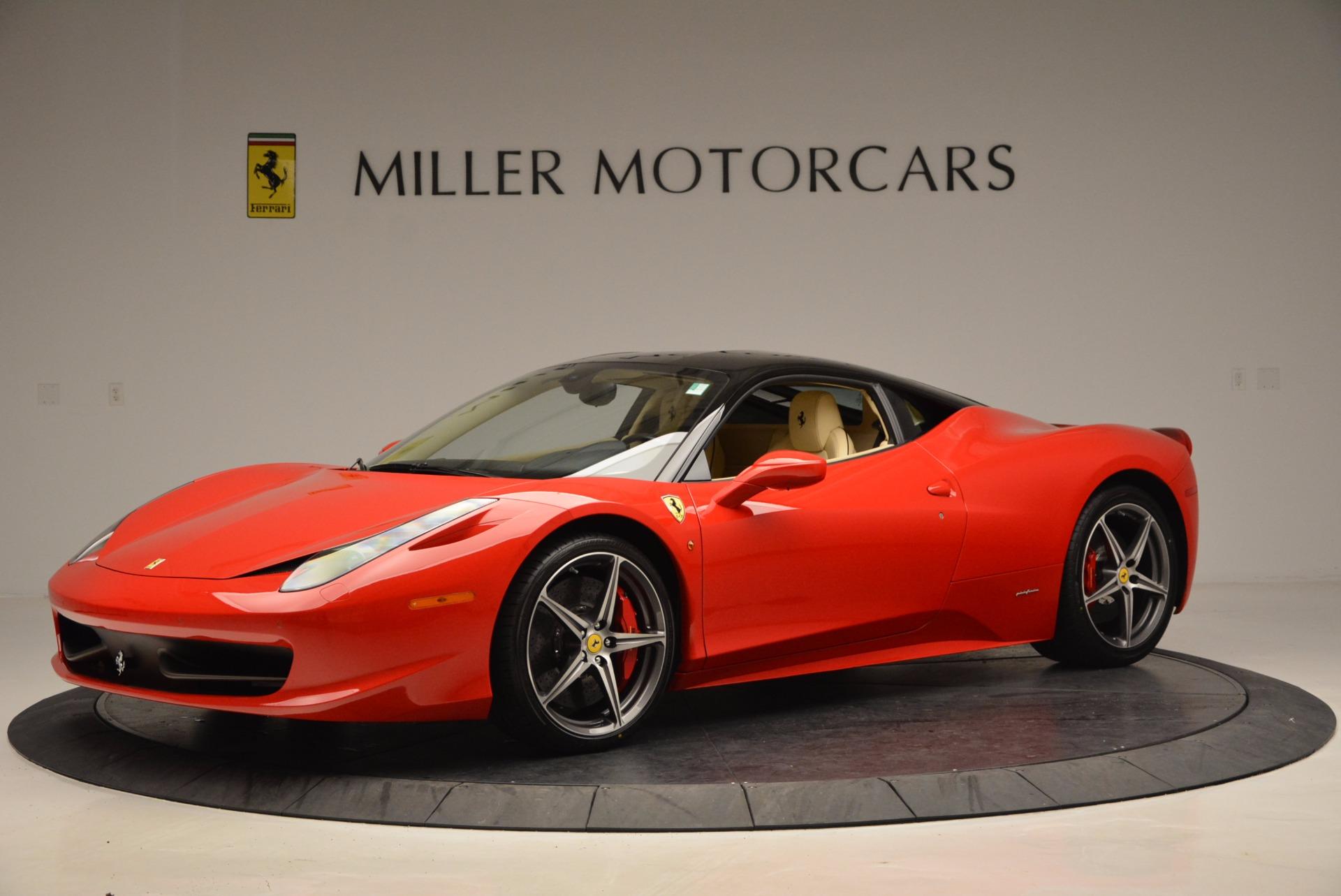 Used 2011 Ferrari 458 Italia  For Sale In Westport, CT 953_p2