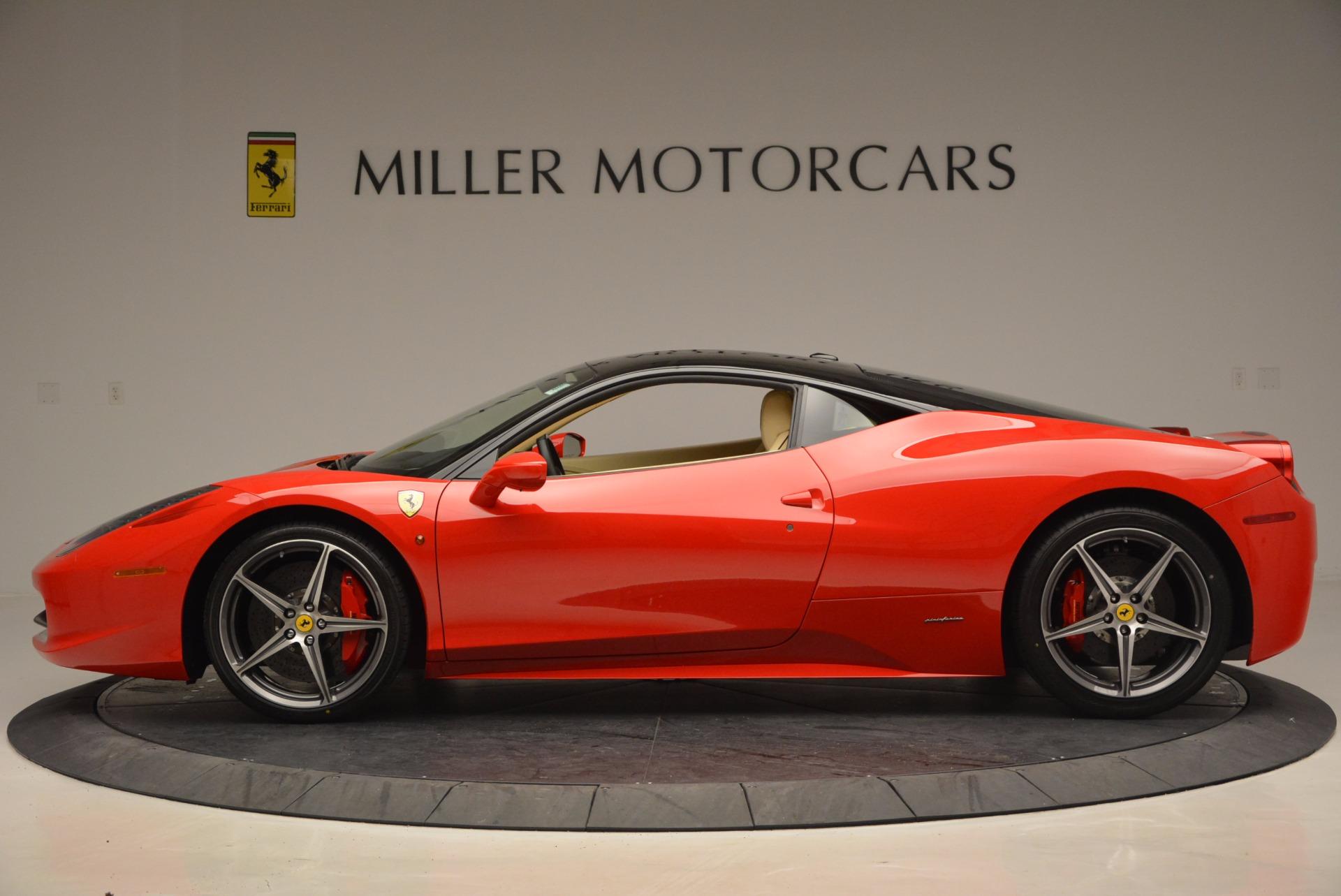 Used 2011 Ferrari 458 Italia  For Sale In Westport, CT 953_p3