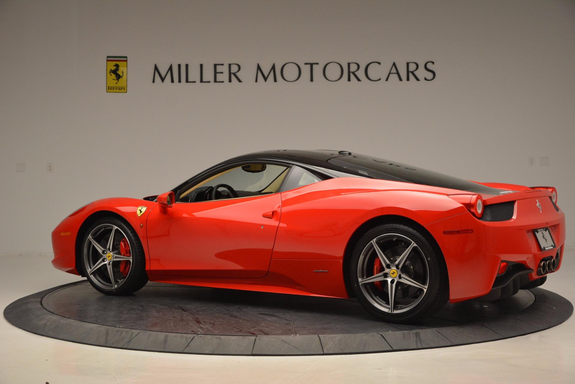 Used 2011 Ferrari 458 Italia  For Sale In Westport, CT 953_p4