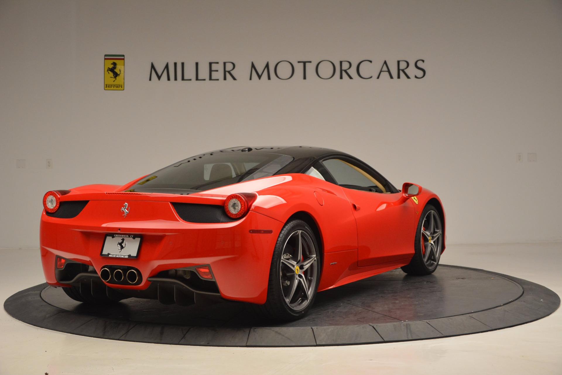 Used 2011 Ferrari 458 Italia  For Sale In Westport, CT 953_p7