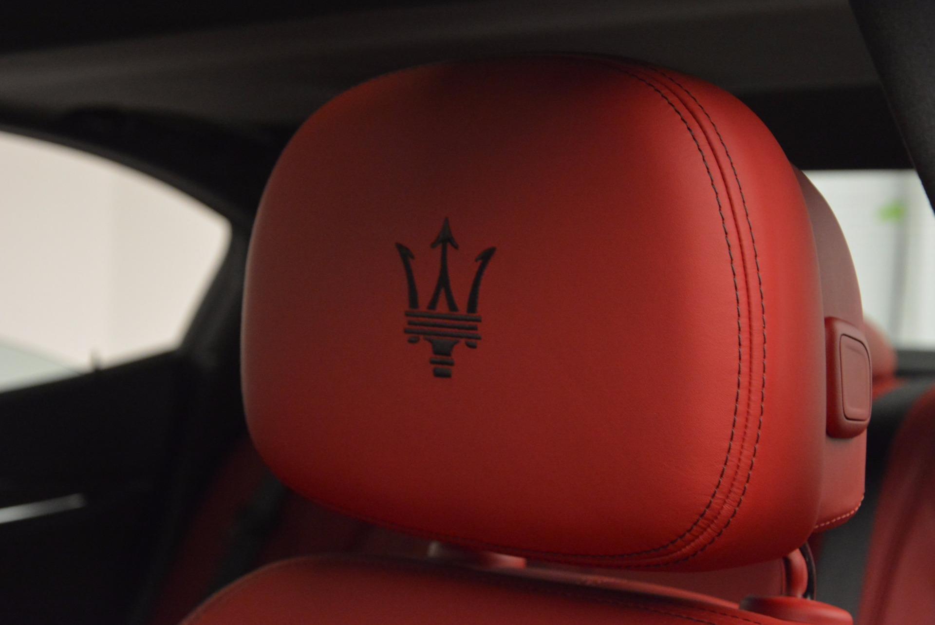 New 2017 Maserati Ghibli S Q4 For Sale In Westport, CT 961_p16