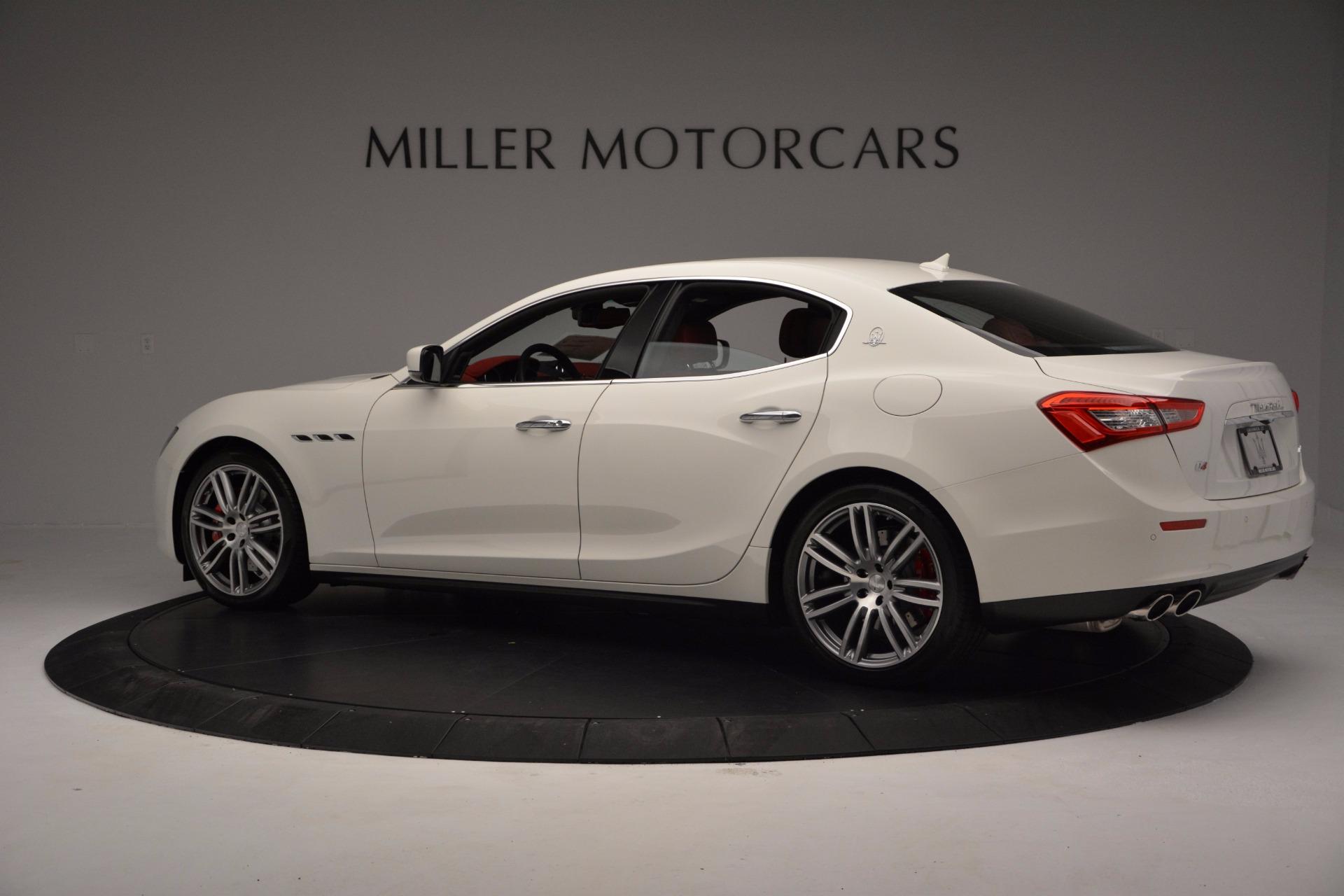 New 2017 Maserati Ghibli SQ4 For Sale In Westport, CT 962_p4
