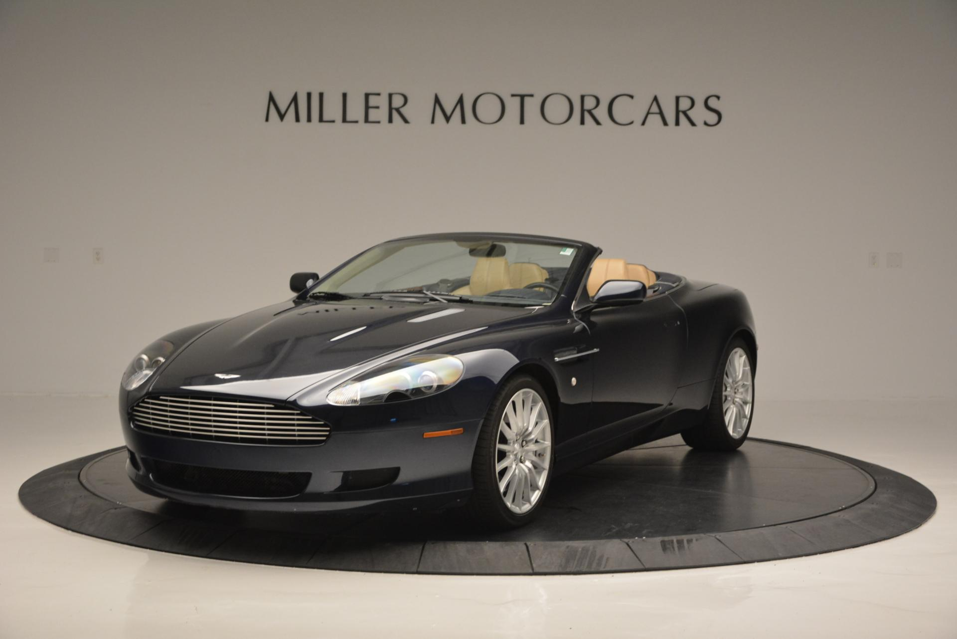 Used 2007 Aston Martin DB9 Volante For Sale In Westport, CT 97_main