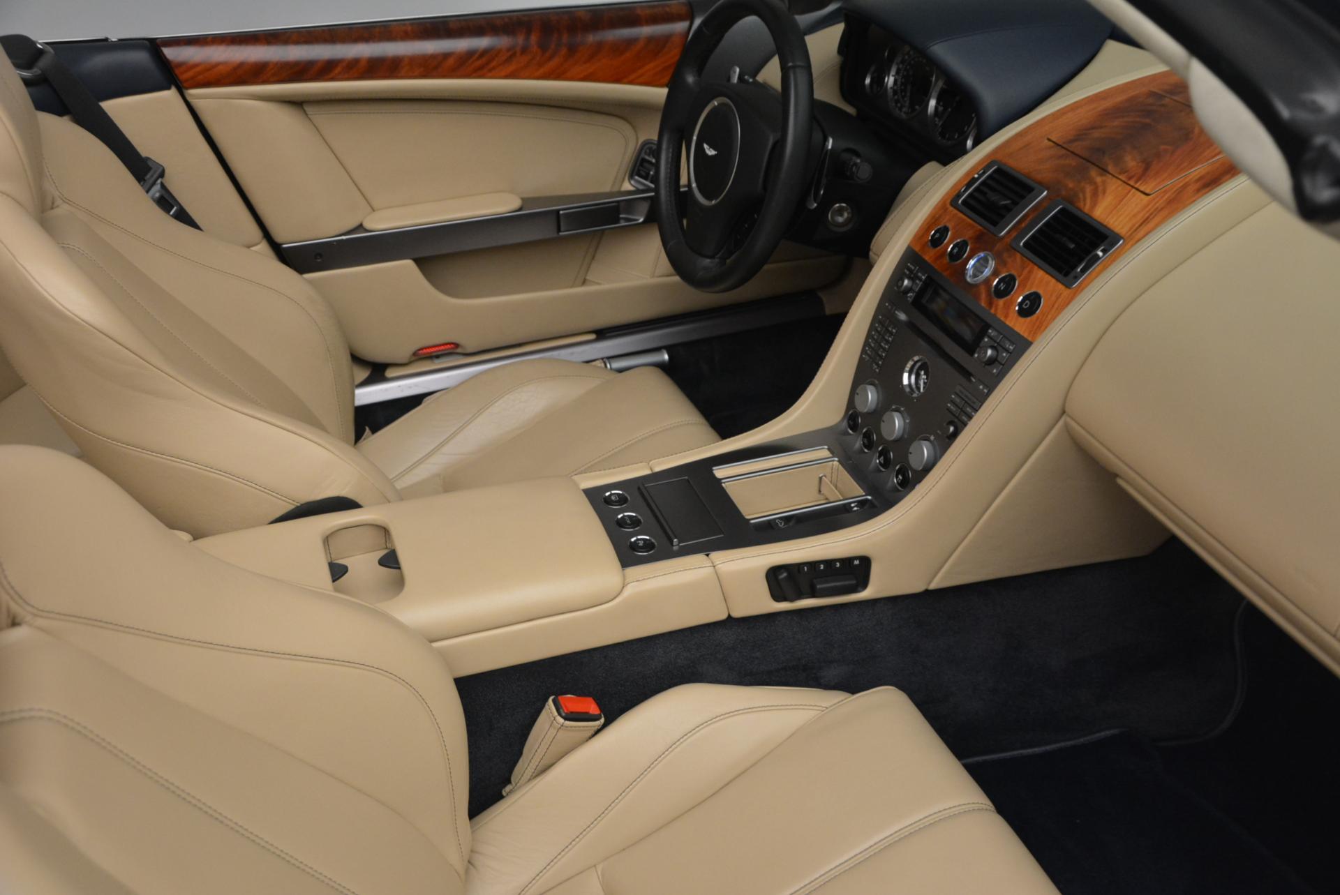 Used 2007 Aston Martin DB9 Volante For Sale In Westport, CT 97_p31