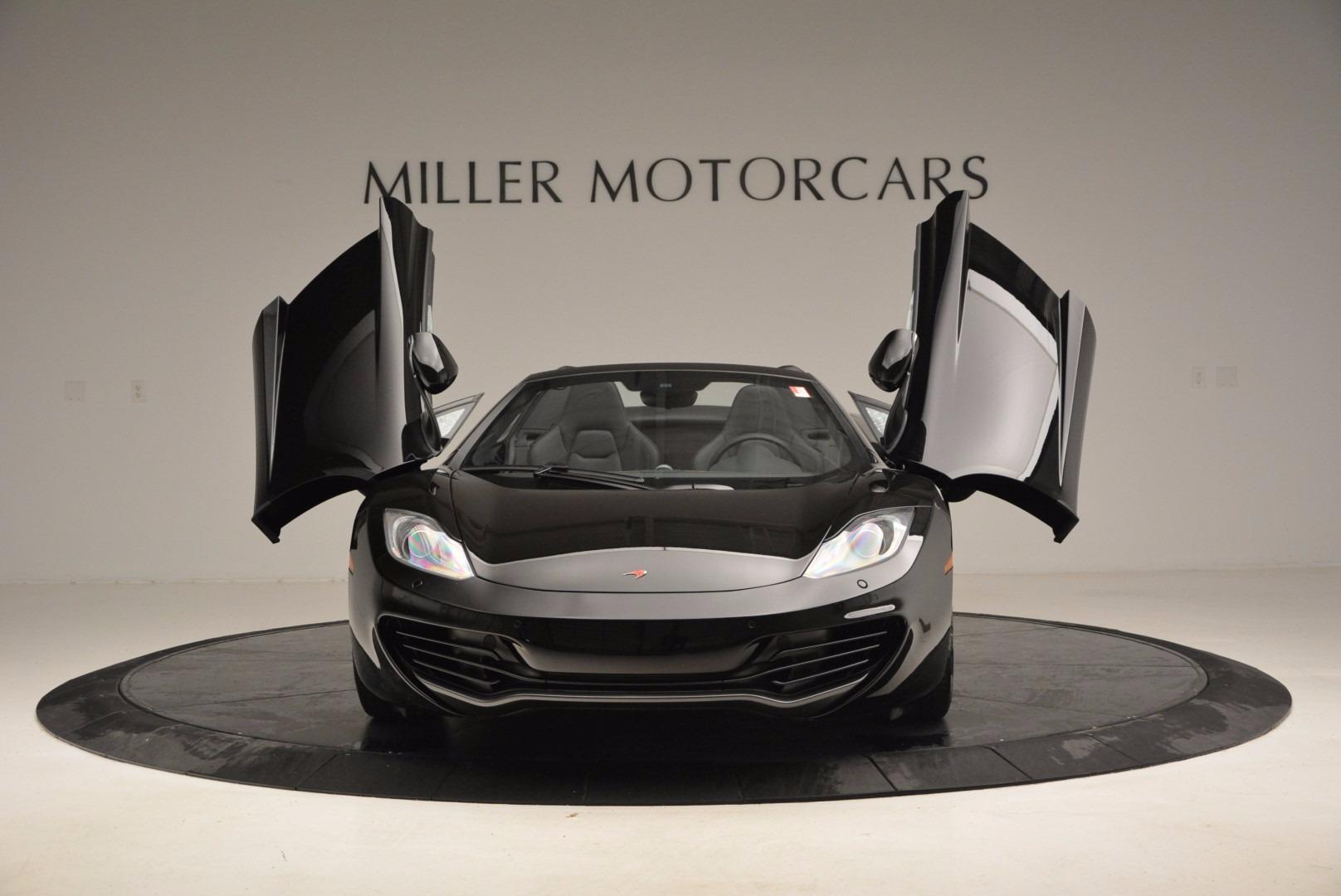 Used 2013 McLaren 12C Spider  For Sale In Westport, CT 973_p13