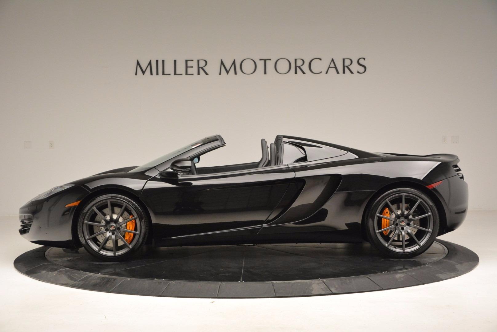 Used 2013 McLaren 12C Spider  For Sale In Westport, CT 973_p3