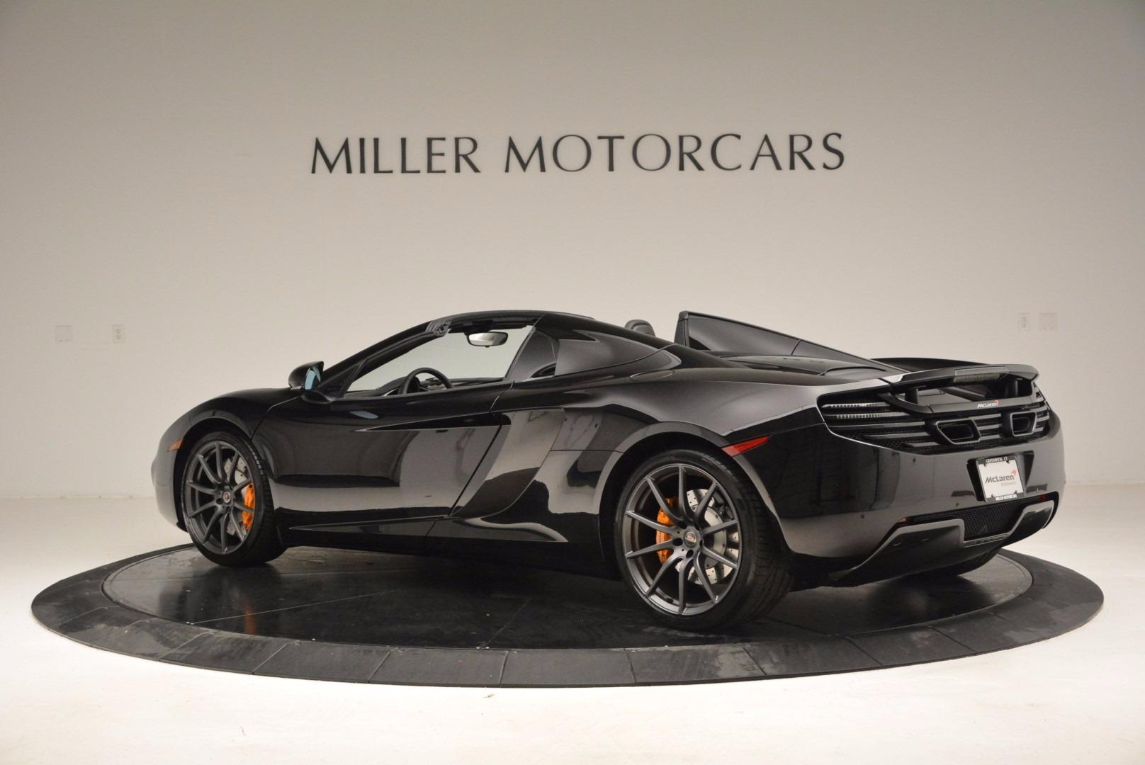 Used 2013 McLaren 12C Spider  For Sale In Westport, CT 973_p4