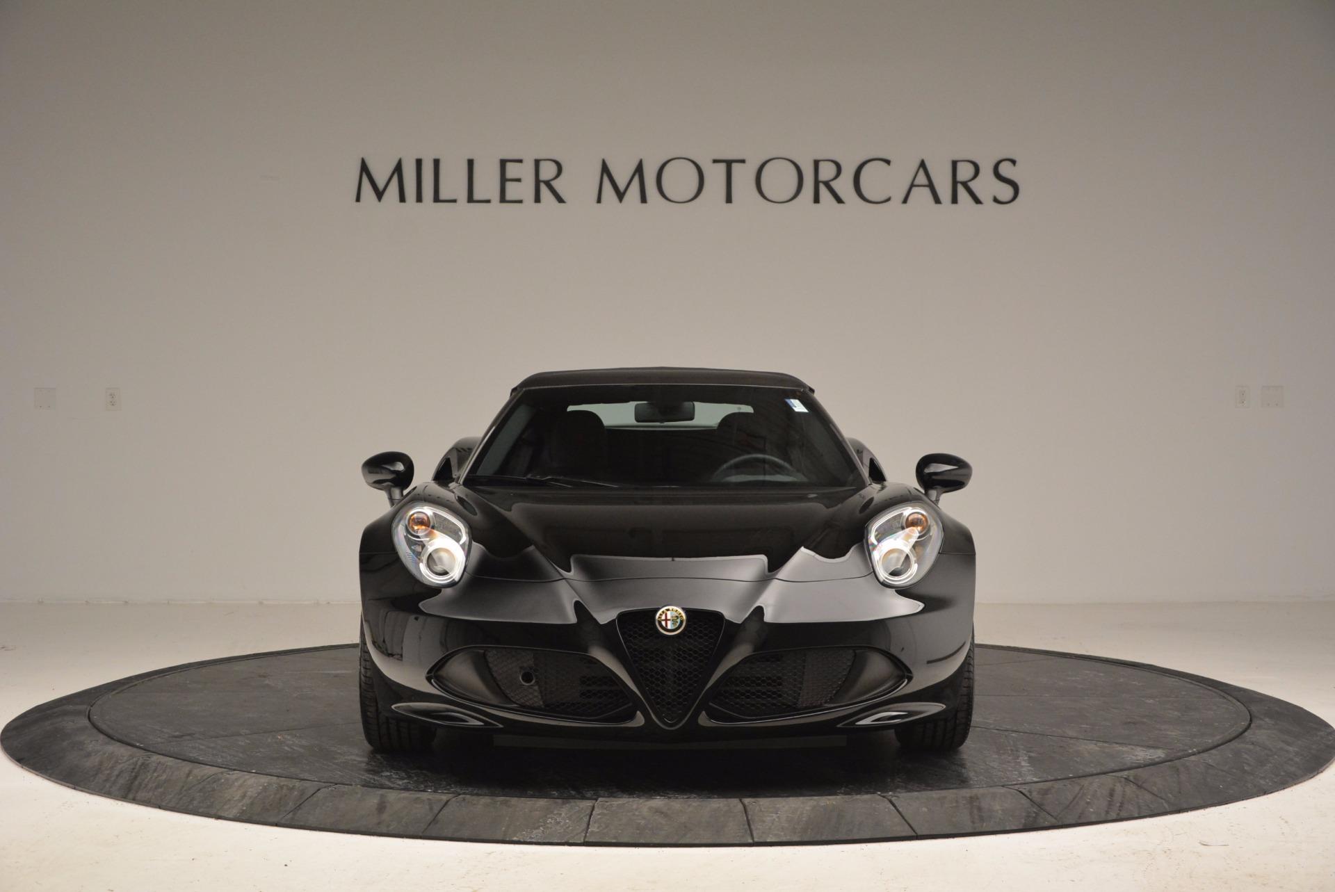 New 2016 Alfa Romeo 4C Spider For Sale In Westport, CT 993_p24