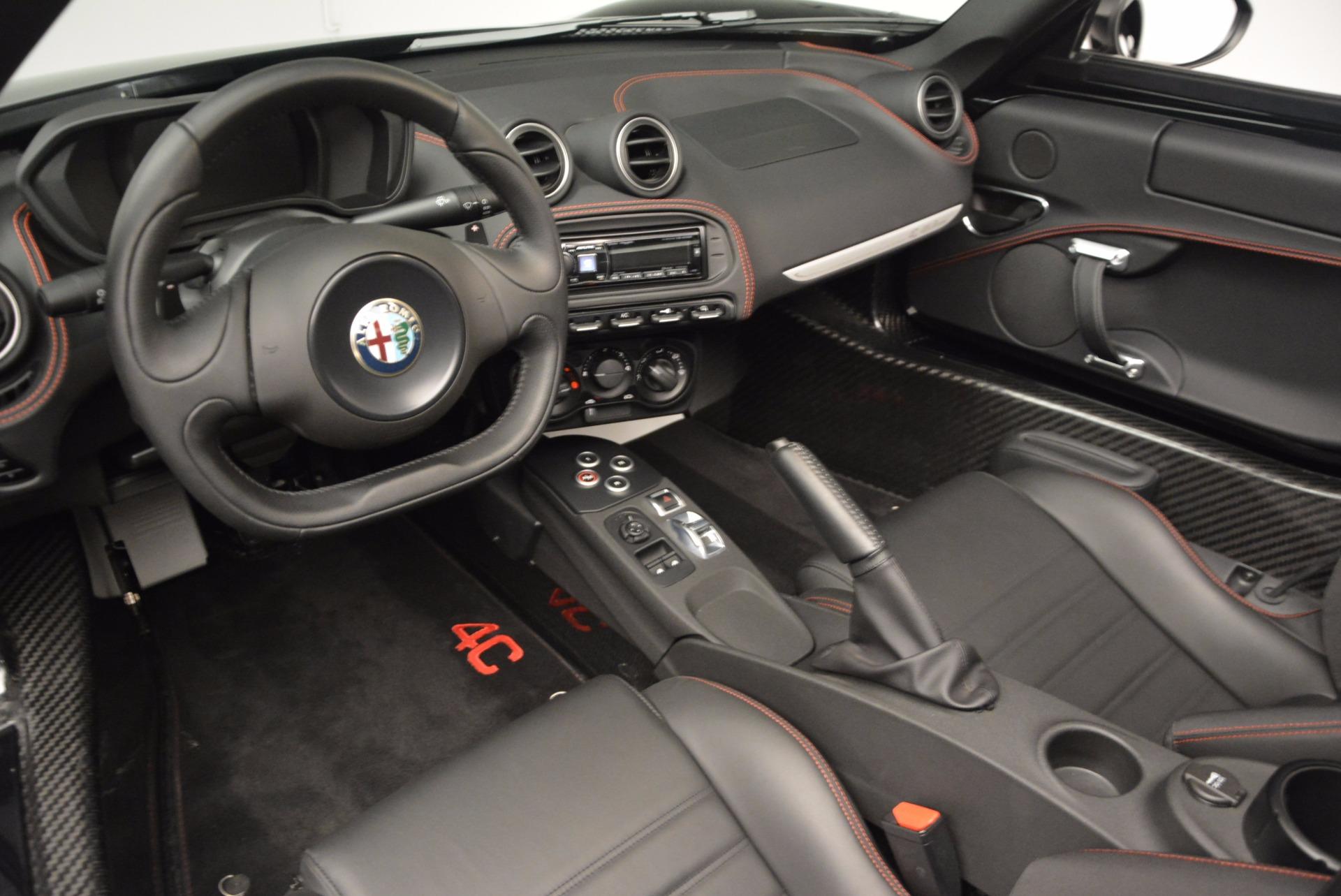 New 2016 Alfa Romeo 4C Spider For Sale In Westport, CT 993_p25