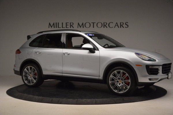 Used 2016 Porsche Cayenne Turbo for sale Sold at Alfa Romeo of Westport in Westport CT 06880 10