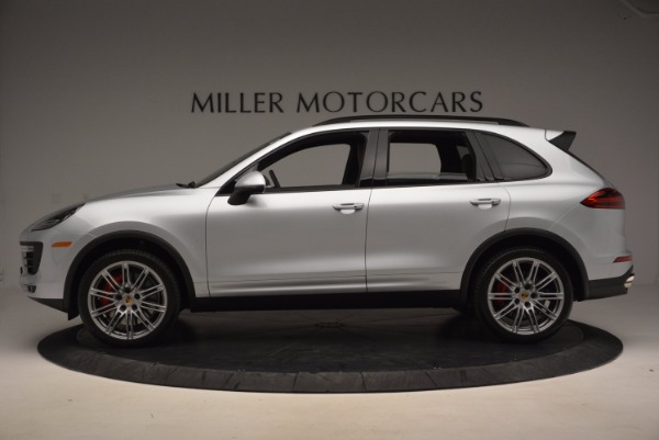Used 2016 Porsche Cayenne Turbo for sale Sold at Alfa Romeo of Westport in Westport CT 06880 3
