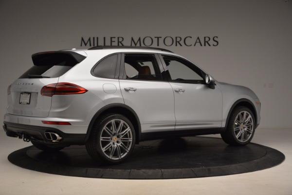Used 2016 Porsche Cayenne Turbo for sale Sold at Alfa Romeo of Westport in Westport CT 06880 8
