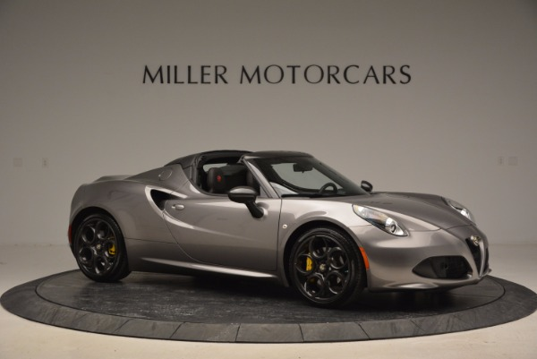 New 2016 Alfa Romeo 4C Spider for sale Sold at Alfa Romeo of Westport in Westport CT 06880 10