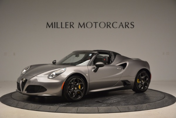 New 2016 Alfa Romeo 4C Spider for sale Sold at Alfa Romeo of Westport in Westport CT 06880 2