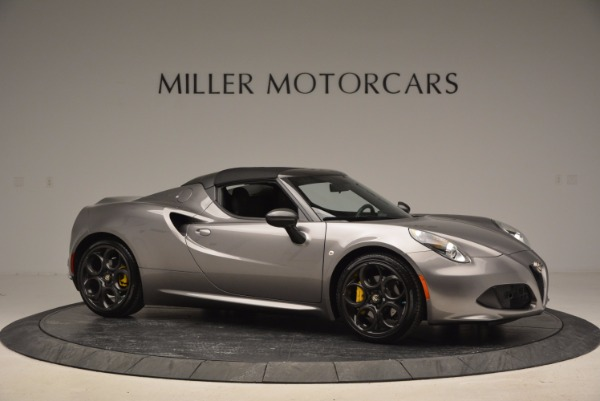 New 2016 Alfa Romeo 4C Spider for sale Sold at Alfa Romeo of Westport in Westport CT 06880 22
