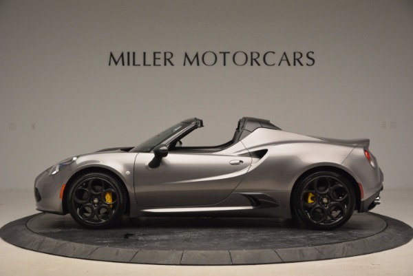 New 2016 Alfa Romeo 4C Spider for sale Sold at Alfa Romeo of Westport in Westport CT 06880 3
