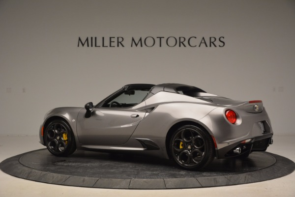 New 2016 Alfa Romeo 4C Spider for sale Sold at Alfa Romeo of Westport in Westport CT 06880 4