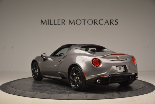 New 2016 Alfa Romeo 4C Spider for sale Sold at Alfa Romeo of Westport in Westport CT 06880 5