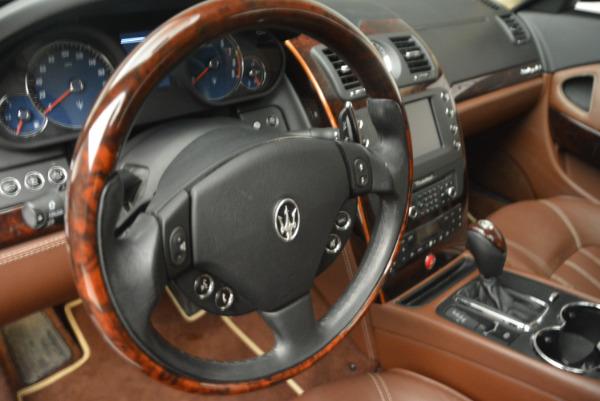 Used 2013 Maserati Quattroporte S for sale Sold at Alfa Romeo of Westport in Westport CT 06880 16