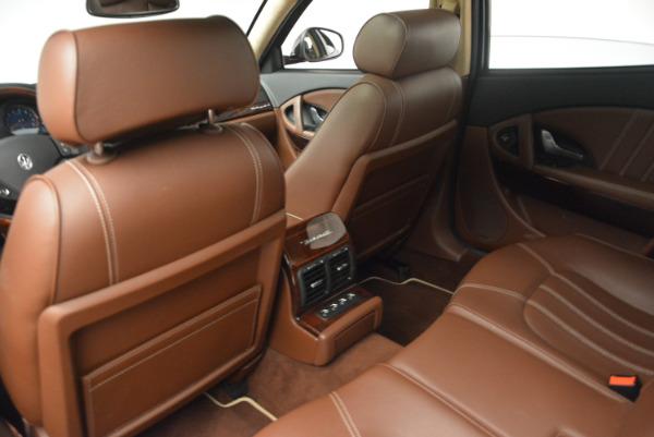 Used 2013 Maserati Quattroporte S for sale Sold at Alfa Romeo of Westport in Westport CT 06880 19